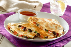 recepty Quesadillas s fazolemi